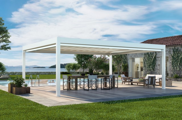 Good Retractable Pergola Pergotenda® Maestro